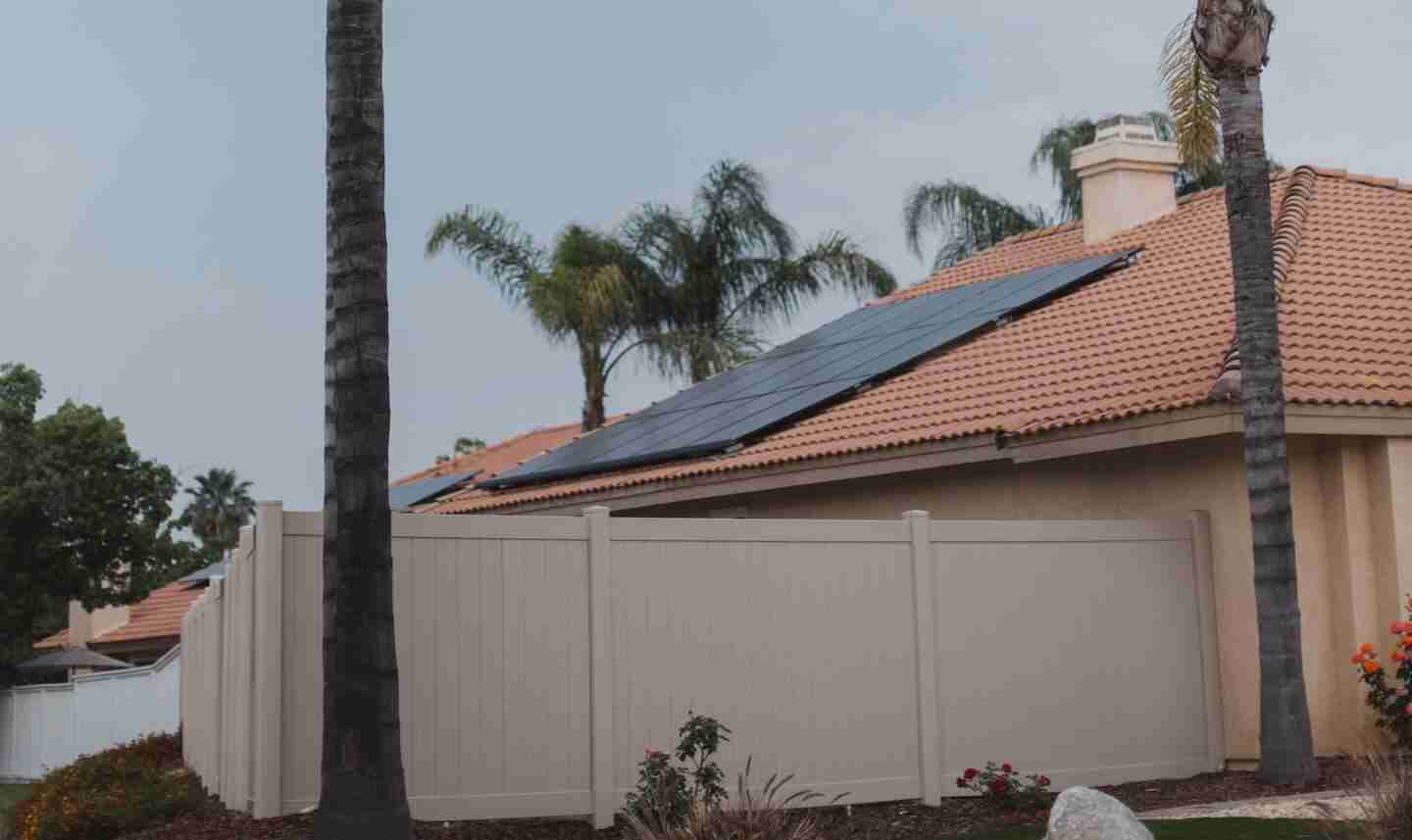 solar panels on home in fl